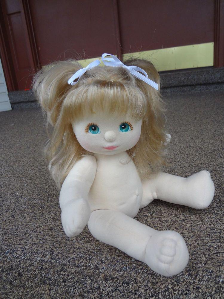 Mattel My Child Doll Ash Blondeaqua Eyes With Peachpink -7698