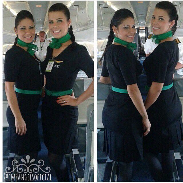 Lindas Comissárias da MAP linhas Aéreas, bem-vindas ✈️