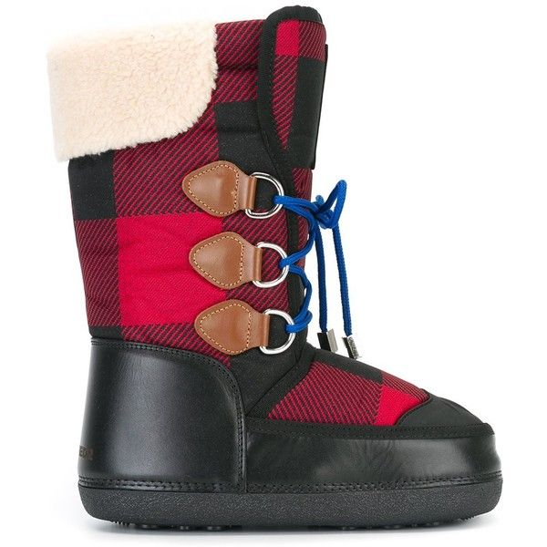 Boots Cad Checked Pattern Moon 580 Dsquared2 xAtUqwXq