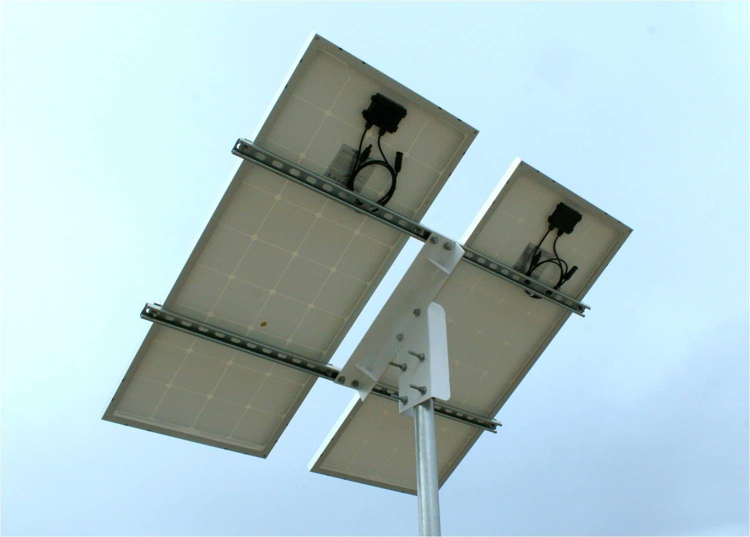 Top Of Pole Solar Panel Mount Solar Amp Wind Power Pinterest Solar Wind Power And Alternative Energy