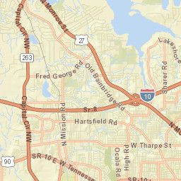 Electrical Outage Map - Tallahassee, Florida   Tallahassee, Florida ...