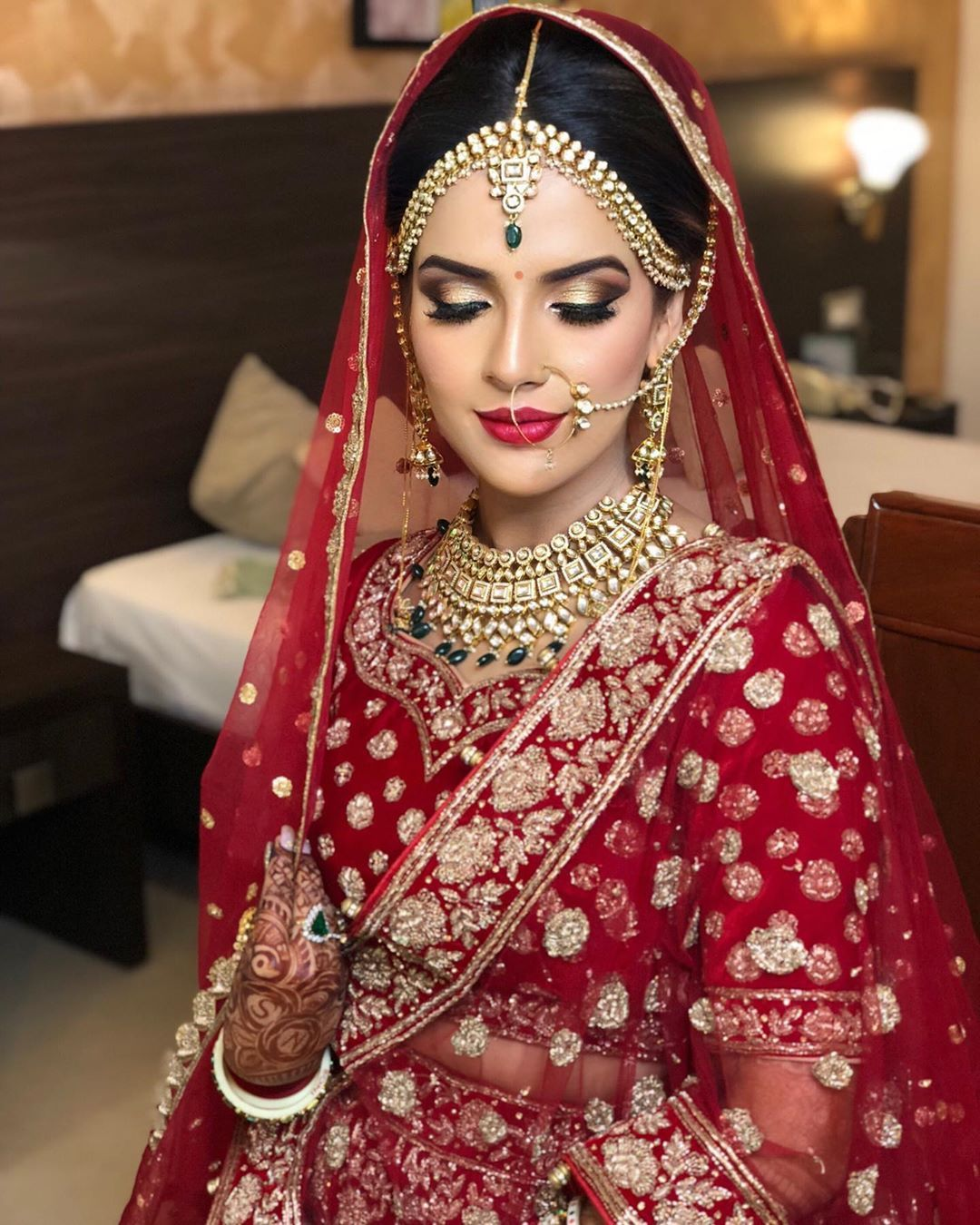 Effects of Airbrush Makeup in 2020 Hd bridal makeup
