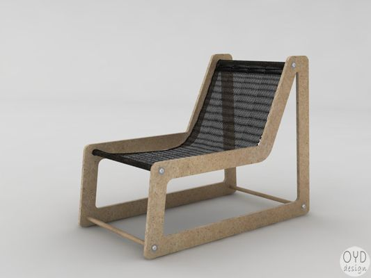 OYD Designu0027s FL Inout Chair Is A Flatpack Lounge Chair Designed To Offer  Comfort, Ease Of Use And Aesthetics While Minimizing Material Use.
