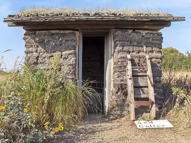 Sod Shed Sod House On The Prairie Sanborn Mn By J Klo Via