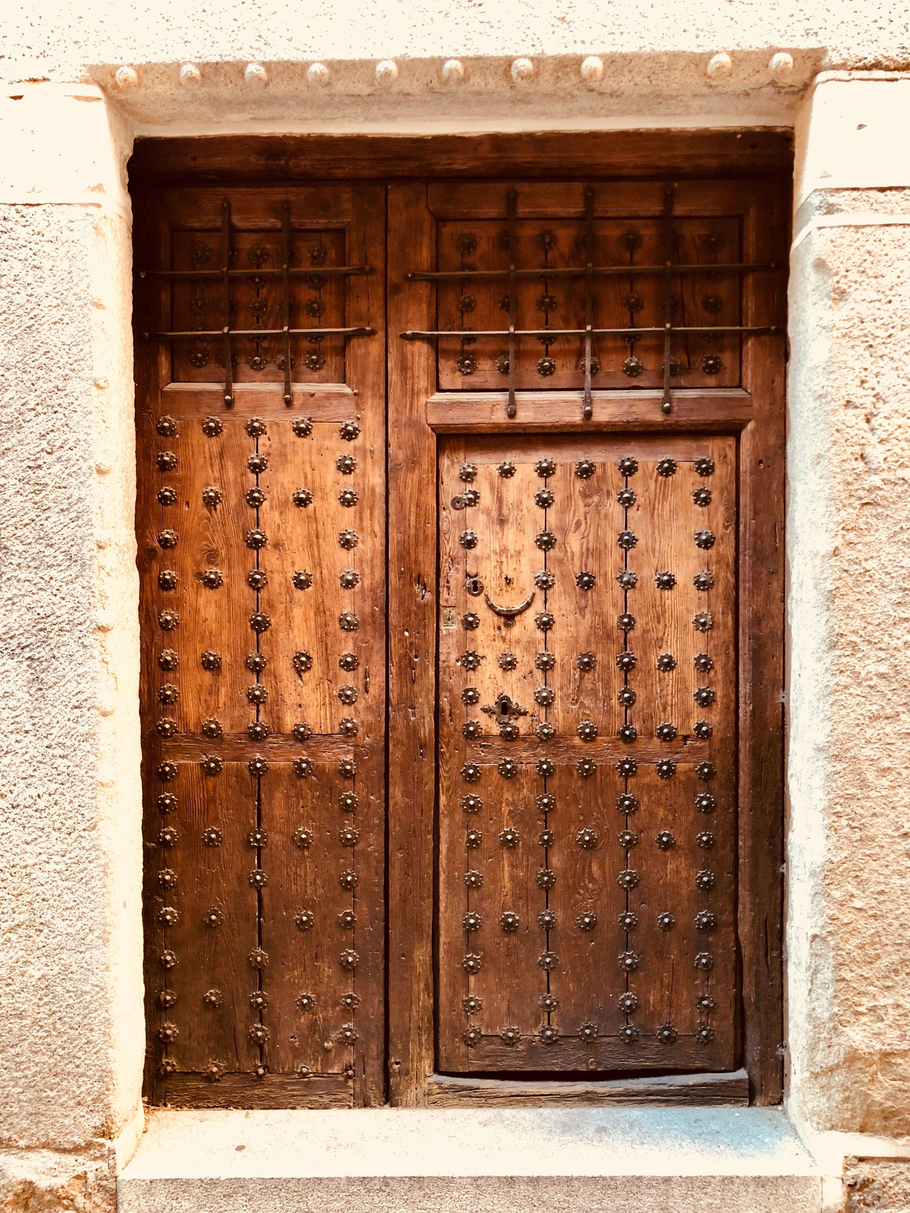 Toledo Old Doors Doors Door Decorations