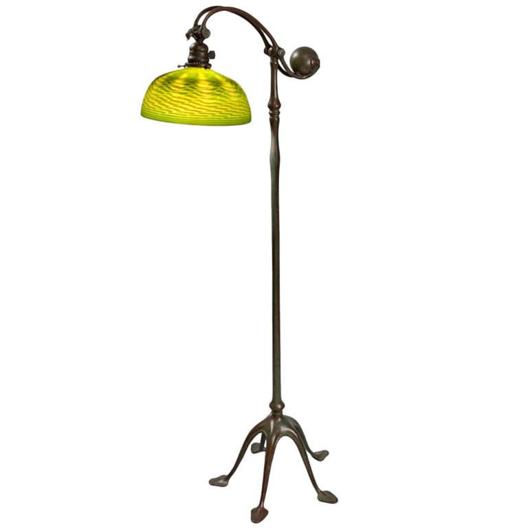 Tiffany Studios Counter Balance Floor Lamp From A Unique Collection Of Antique And Modern Floor Lamps At Http Www 1st Vintage Floor Lamp Floor Lamp Lamp