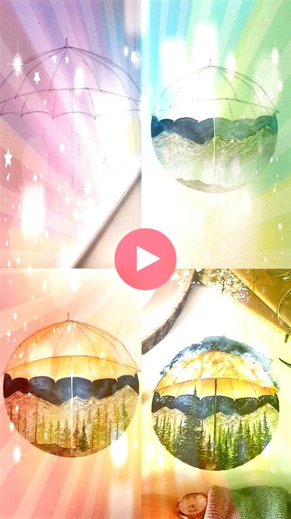Step By Step Easy Watercolor Paintings Example for Beginners25 Step By Step Easy Watercolor Paintings Example for Beginners Hot air balloon in watercolor How to draw a ni...