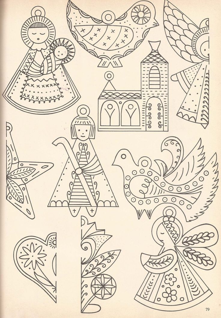 Rawdraw Favorite Embroidery Patterns Vintage Christmas Embroidery Felt Christmas Ornaments