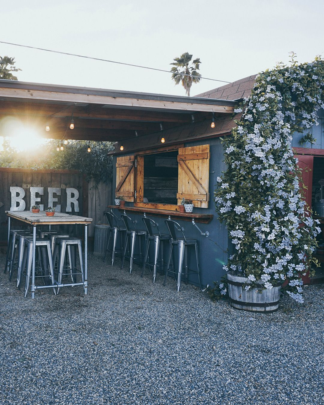 Backyard Craft Beer Brewery Shed