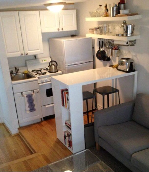 Kitchen Themes For Apartments: Great Way To Give A Tiny Kitchen More Space