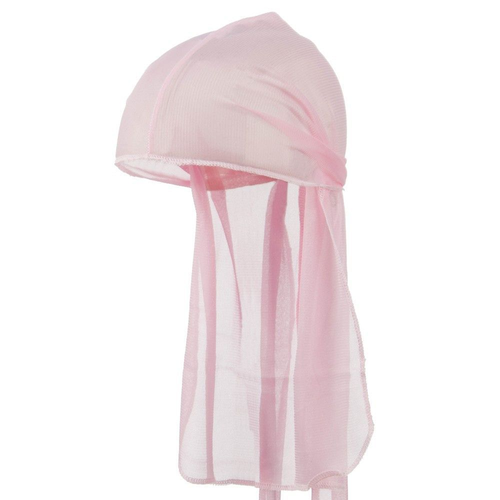 Pink Wave Cap Sexy Tie Down Grey Durag Cap Cool Nylon Sporty and ...