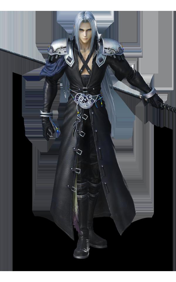 Sephiroth} Final fantasy sephiroth, Final fantasy art