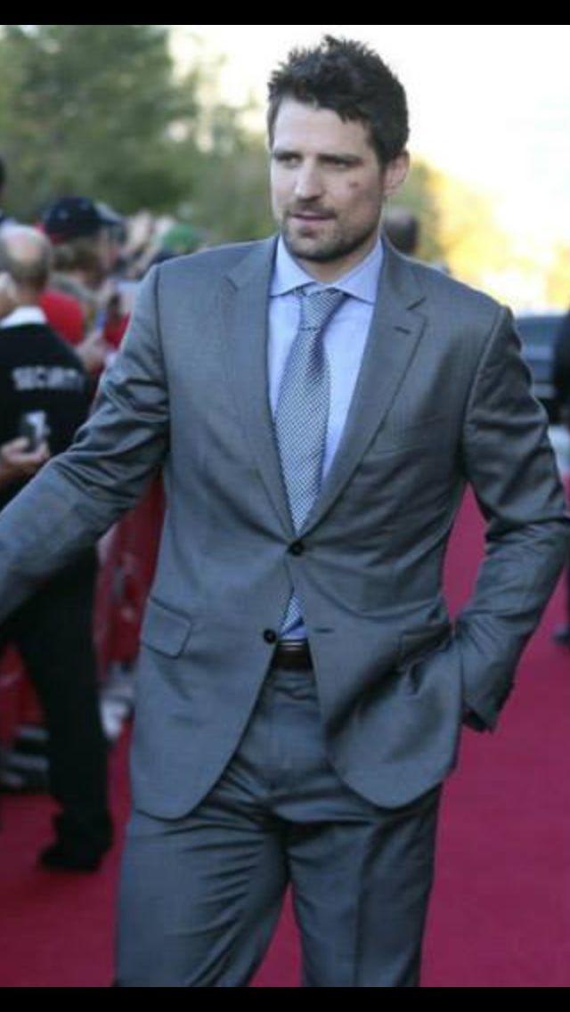 SHARP dressed man...