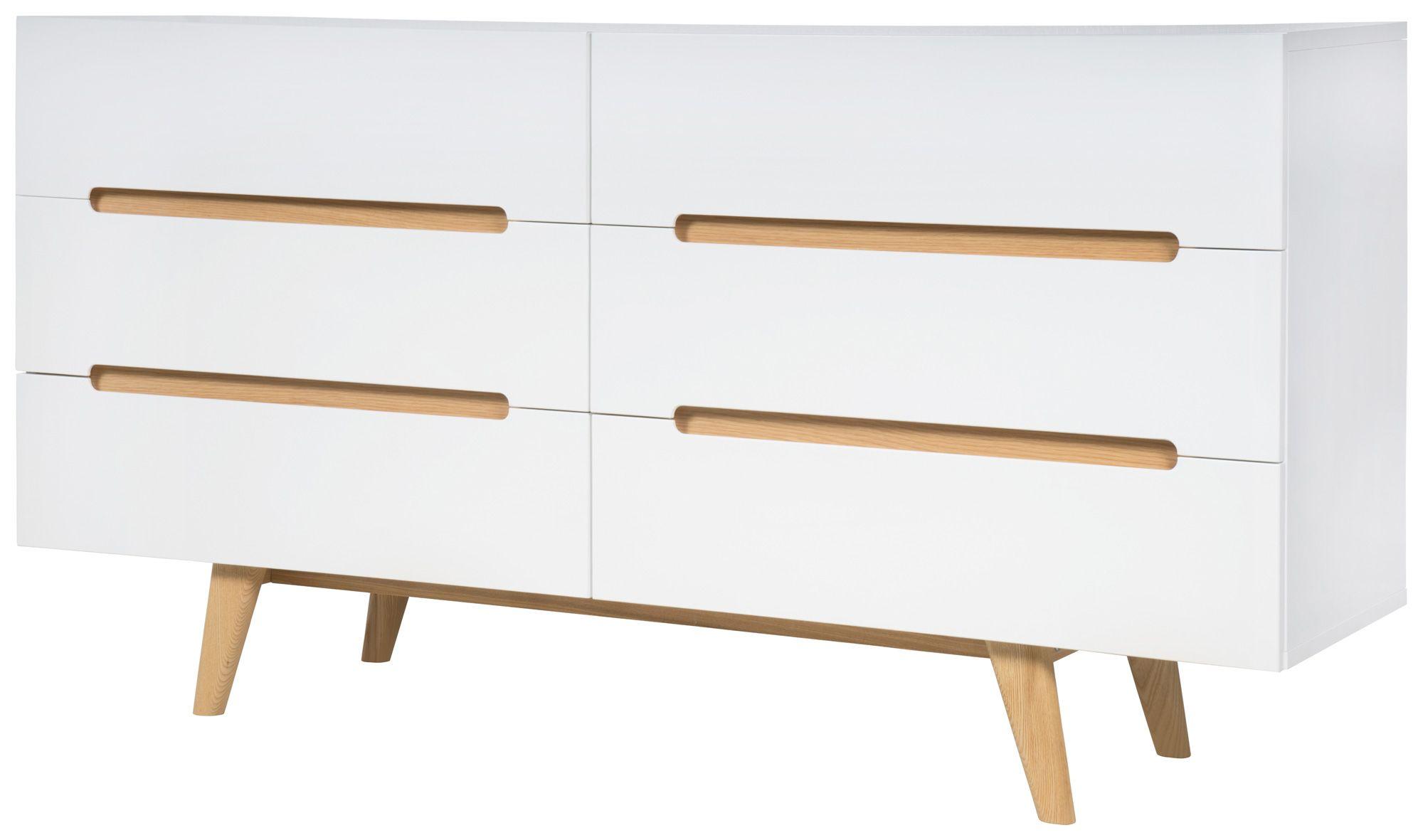 Sideboard Weiß Holz