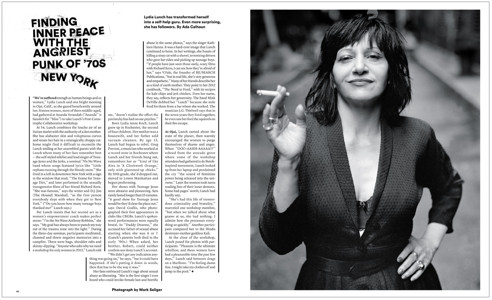 Feature Story The New York Times Magazine Editorial Print