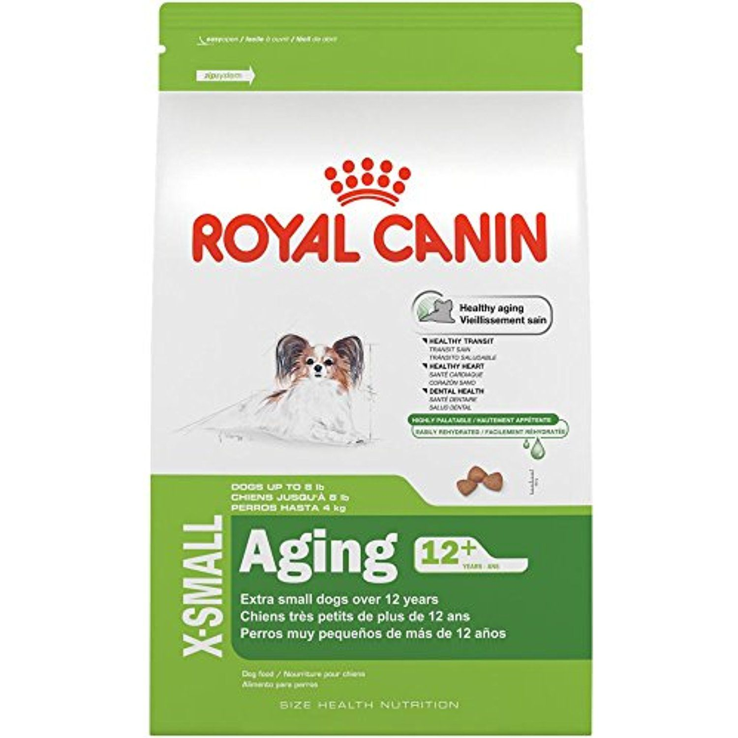 Royal Canin Size Health Nutrition X Small Aging 12 Dry Dog Food 2 5 Pound You Could Find More Details By Visiting Dry Dog Food Puppy Formula Royal Canin