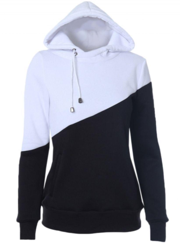 54 Best Color Block Warm Comfy Hoodies To Try Winter Style Comfy Hoodies Collared Sweatshirt Hooded Sweatshirts