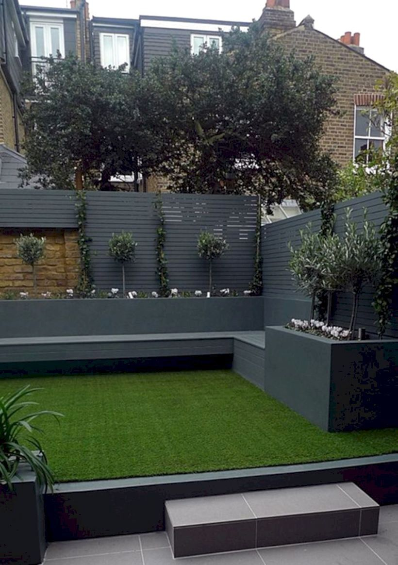100 Latest Front And Back Small Yard Garden Design Ideas