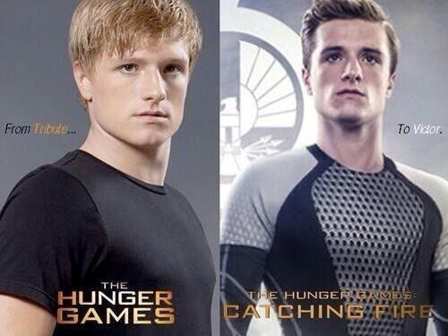 Hunger Games / Catching Fire / Peeta | Hunger games ...
