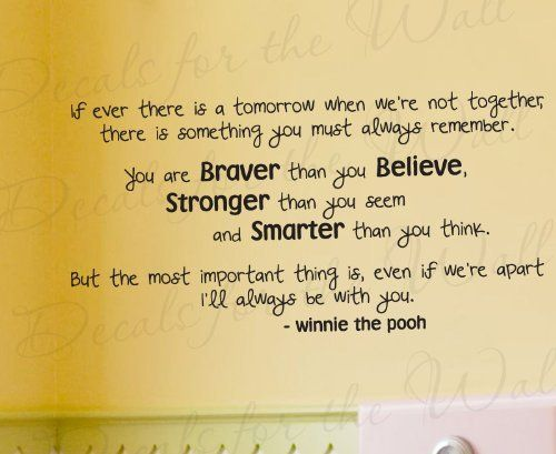 If Ever There is a Tomorrow Winnie the Pooh - Winnie the Pooh ...