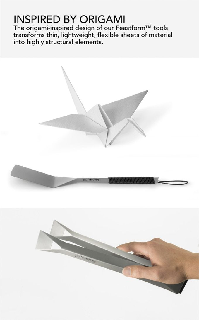 Feastform Titanium Cooking Tools By Concept 91 Llc Kickstarter
