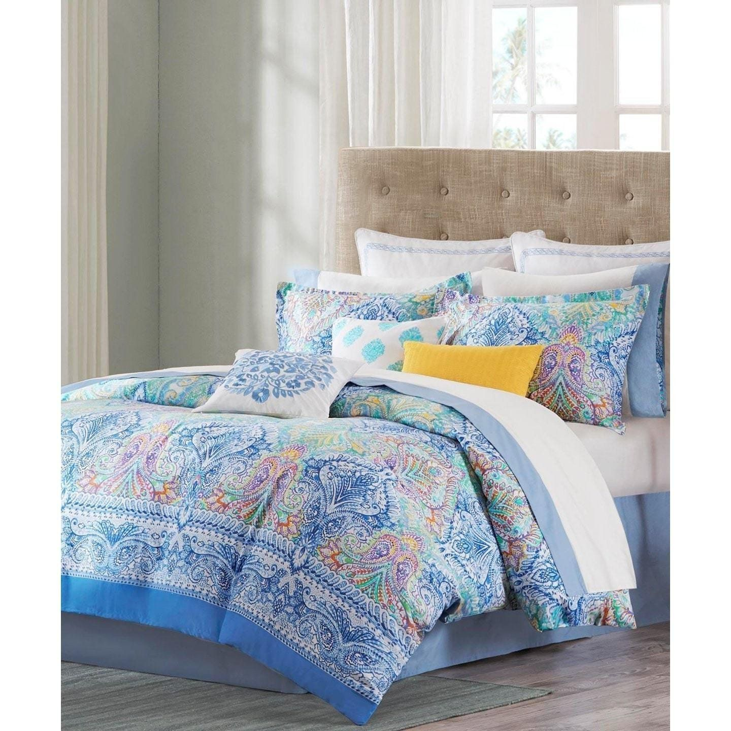 fine art queen zoom listing twin fullxfull turquoise king nature il duvet watercolor blue covers au