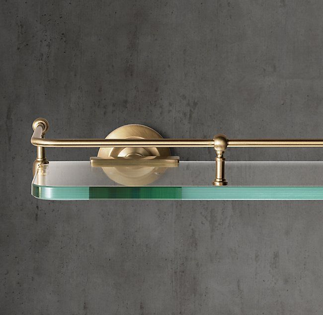 Lugarno Glass Shelf {WORK} Frazzini Home Pinterest Glass