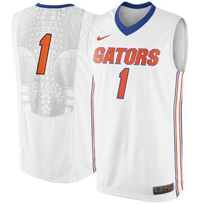 huge selection of 5e141 08b09 Nike Florida Gators #1 Replica Elite Basketball Jersey ...