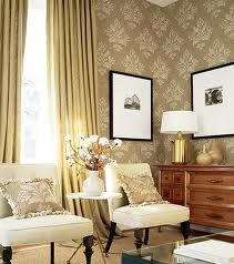 http://www.nextelements.com/wp-content/uploads/2013/05/awesome-damask-wallpaper-ideas-and-wood-finish-sideboard-with-white-table-lamp-shades.jpg