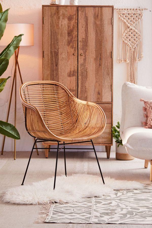Lillian Rattan Chair In 2019 Decorate Furniture