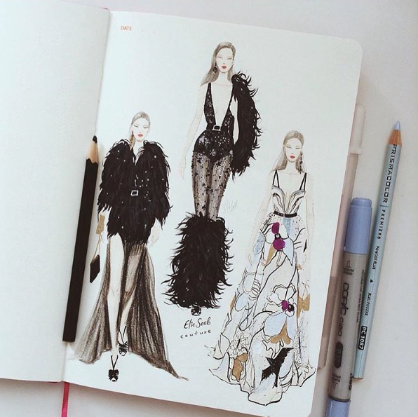 Photo of Fashionary Hand – A Fashion Illustration Blog