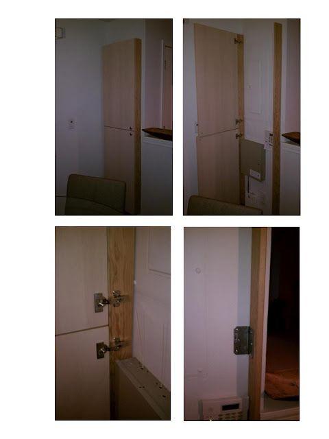 door cover to hide pipes or breaker box