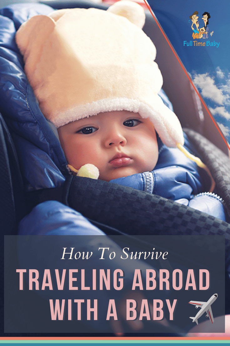 Traveling may seem a daunting for the first time, especially if you're flying internationally. Now if you're traveling with a baby, there are a few extra considerations #traveling #familytravel #babytravel #infanttravel #baby #parenting #vacation