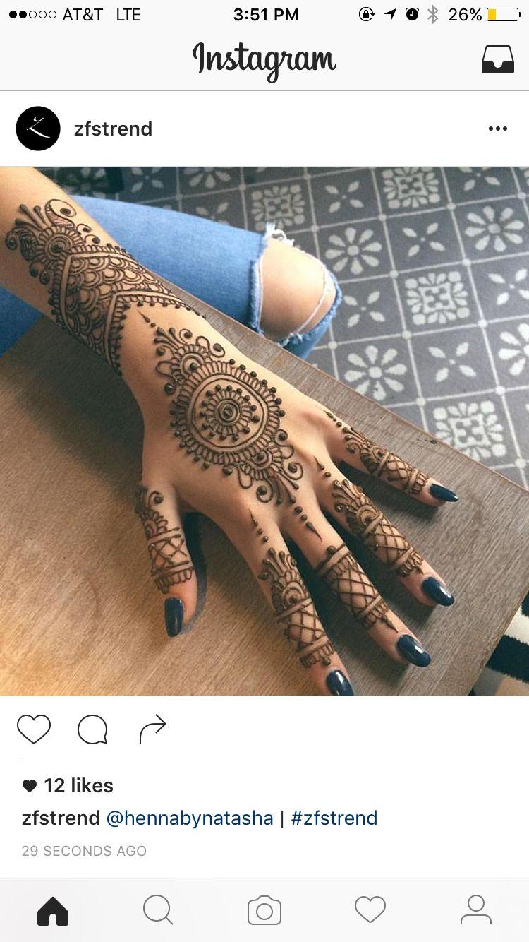 Pin de Nashrah Ahmed en Mendhi | Pinterest | Tatuajes, Henna y ...