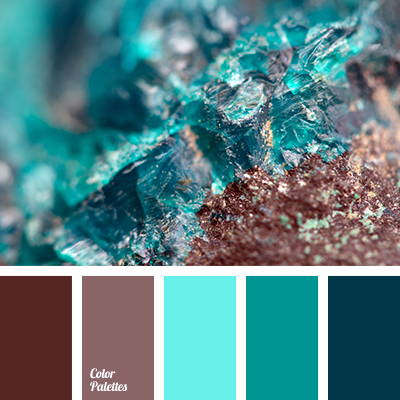 Color Palette 2356 Brown Color Palette Turquoise Color Scheme Blue Color Schemes