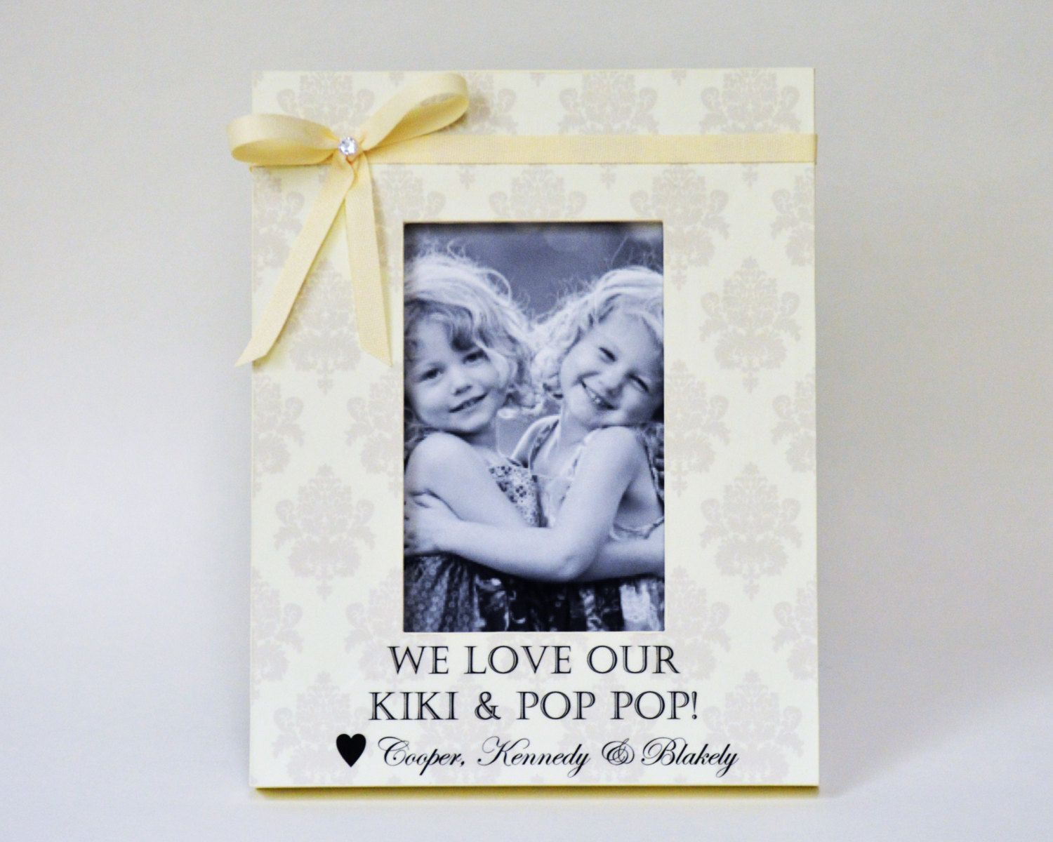 Grandparents Grandmother Gift Personalized Picture Frame Gift from ...