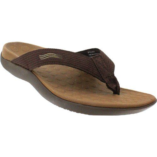 5e69ce6664f7 Orthaheel Wave Thong Sandals Chocolate Mens 13 Womens 14    You can find  more details by visiting the image link.