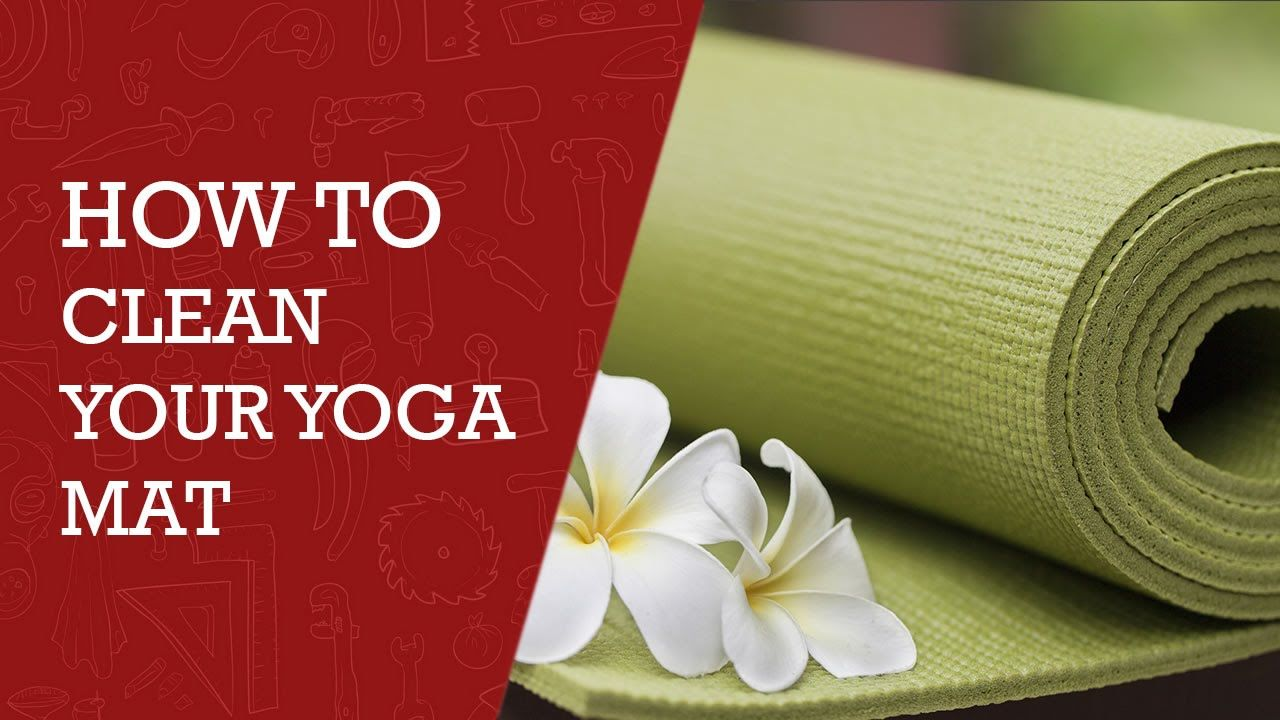 How to clean a yoga mat best yoga mat cleaning solution