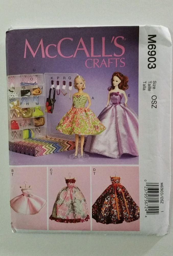 McCalls Pattern 6903 11 1/2\