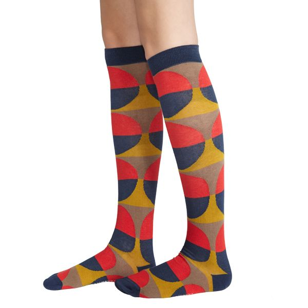 Marimekko knee stockings