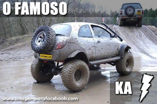 O Famoso Ford Ka Raio Rally Imagens Engracadas Carros