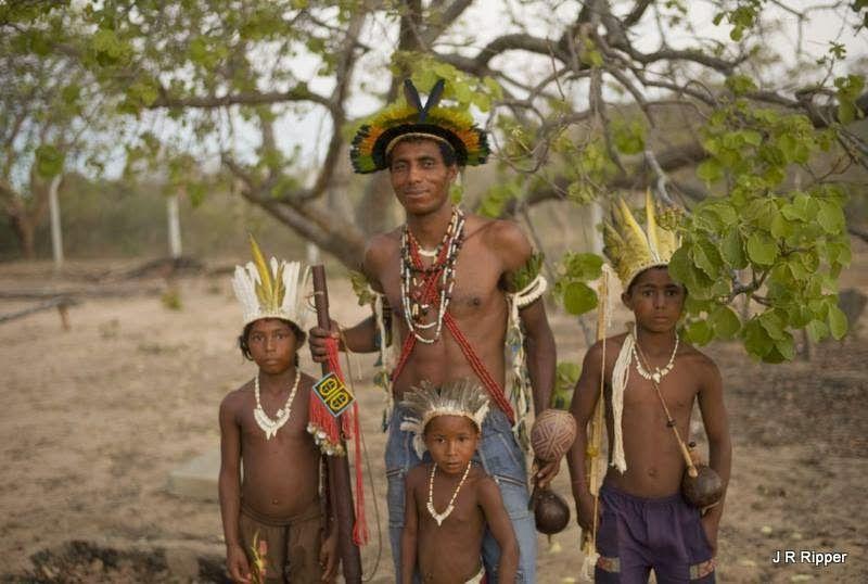 Indios Xakriabá -Um dos poucos grupos indigenas que habitam o estado de Minas Gerais, os Xakriabas sobreviveram ao intenso contato com os bandeirantes e depois com as frentes pecuaristas e garimpeiras.  Minas Gerais