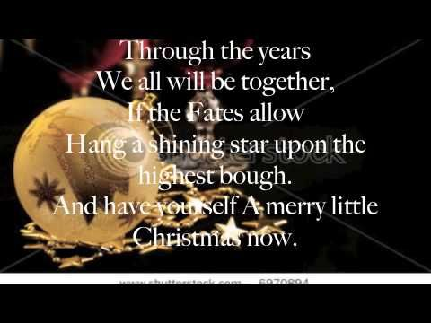 Have Yourself a Merry Little Christmas Lyrics Michael Buble - YouTube | Lustig, Querbeet