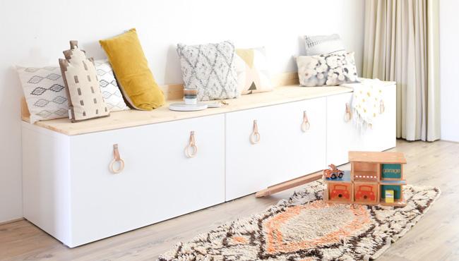 Ikea Hack : 6 façons de personnaliser le caisson Besta
