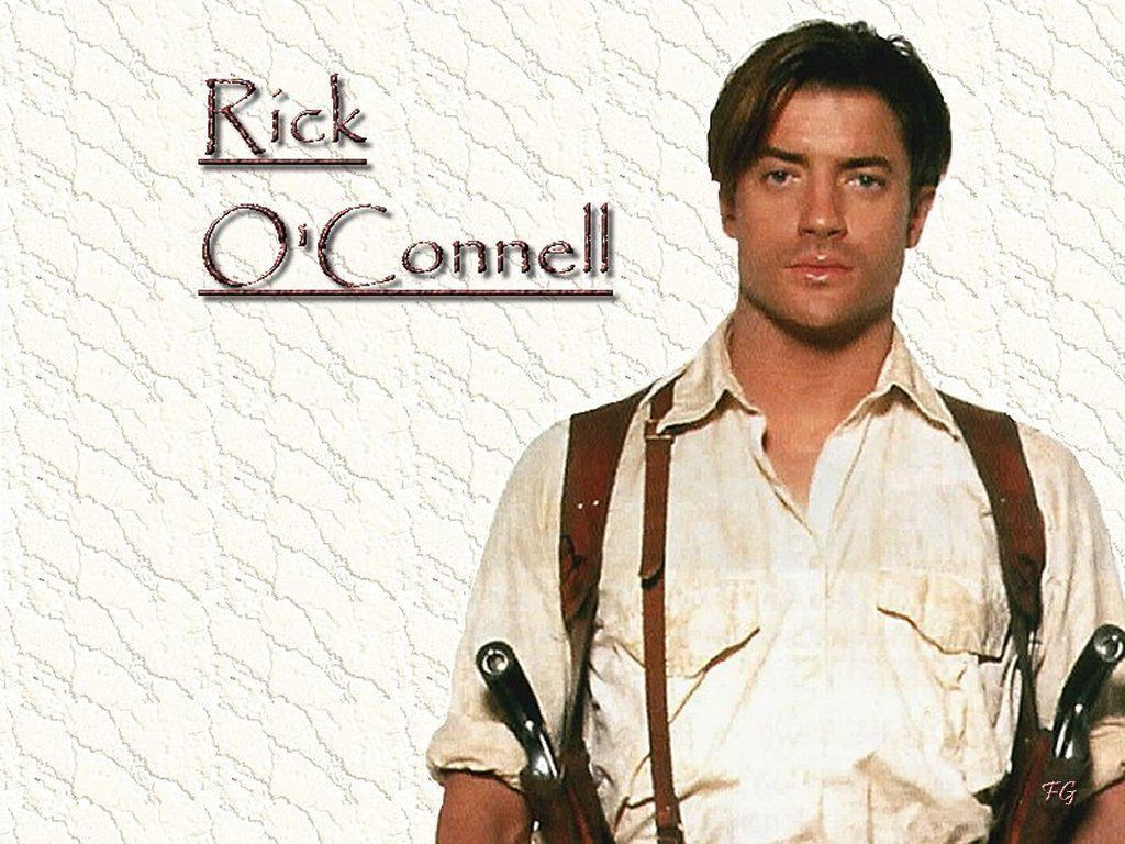 Young Brendan Fraser The Mummy Brendan Fraser as Rick...