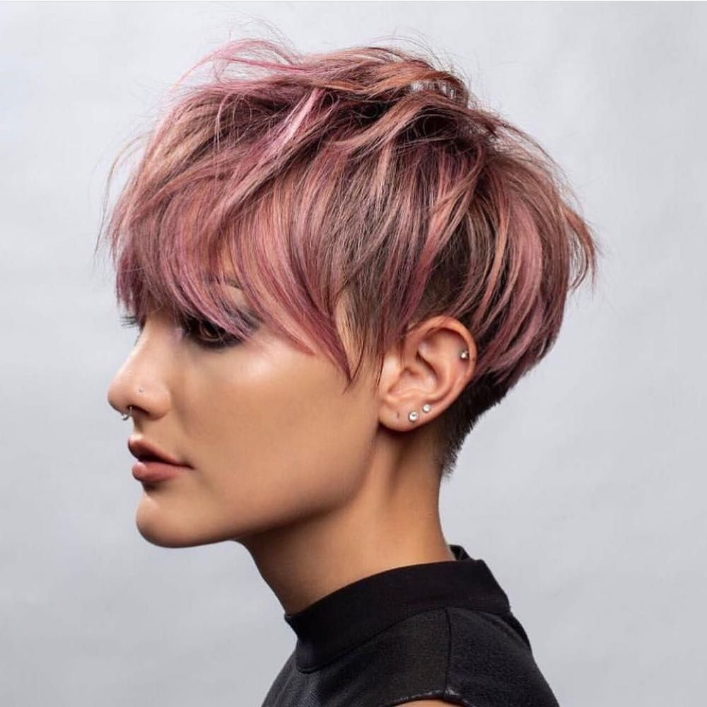 Short Hairstyles For Thick Hair Women Short Haircut Ideas 2019 Short Hairstyles For Thick Hair Thick Hair Styles Short Hair Color