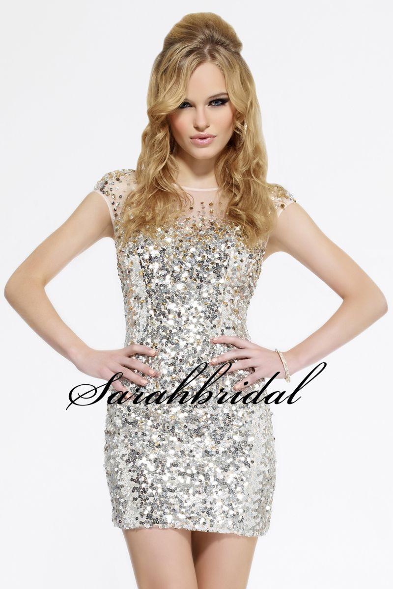 2015 Cocktail party kleid kristall steine Pailletten vestido de ...