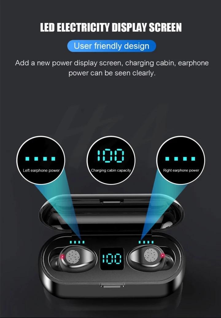 Wireless Bluetooth Earbuds Bluetooth earbuds wireless