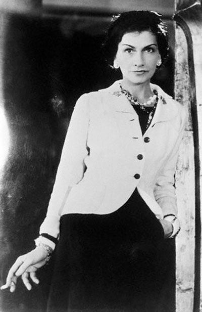 Coco Chanel.....