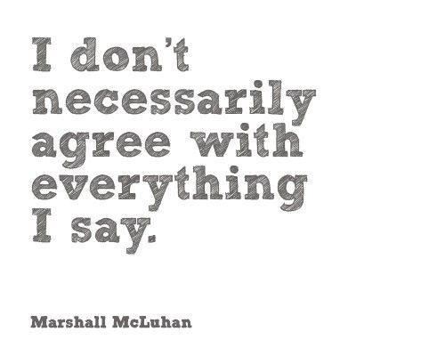 True very often...